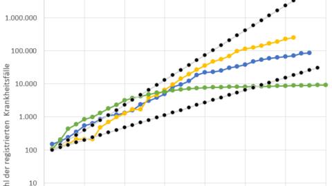 Der Logarithmus in Zeiten von Corona